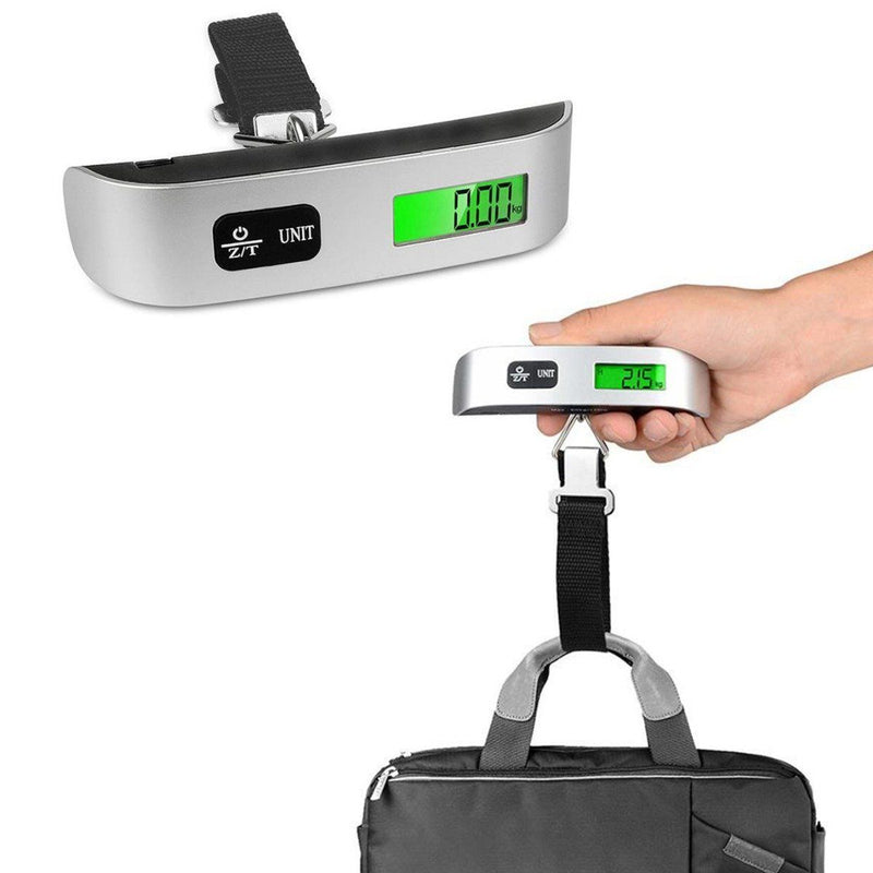Portable Digital Luggage Scale LCD Display Gadgets & Accessories - DailySale