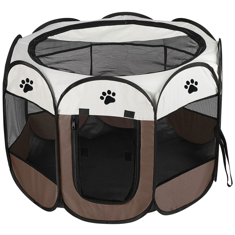 Portable Foldable Pet Playpen For Dogs Cats Other Pets
