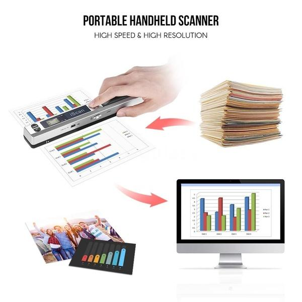 Portable HD iScan Paper Document Scanner Computer Accessories - DailySale