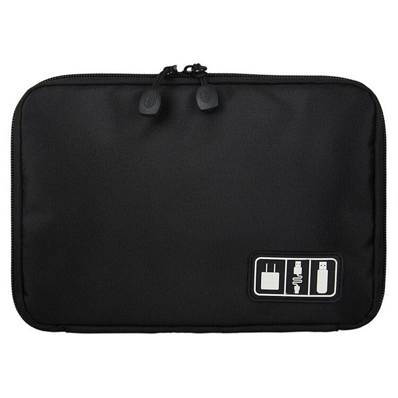 Portable Tech Travel Bag - Assorted Colors Gadgets & Accessories Black - DailySale