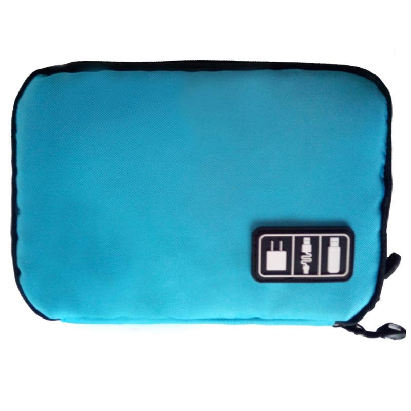 Portable Tech Travel Bag - Assorted Colors Gadgets & Accessories Blue - DailySale