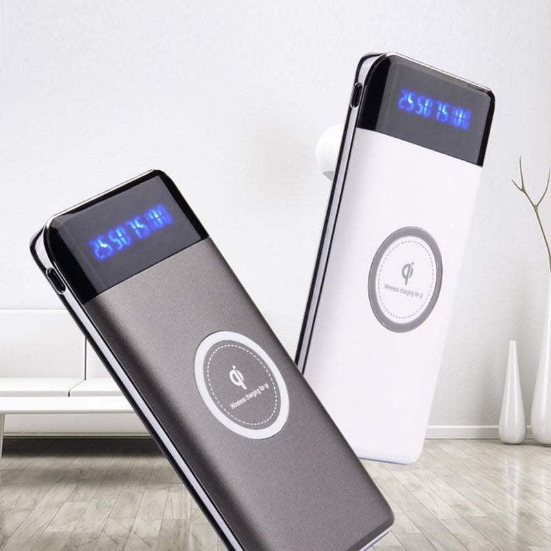 Portable Wireless Charger Power Bank Gadgets & Accessories - DailySale