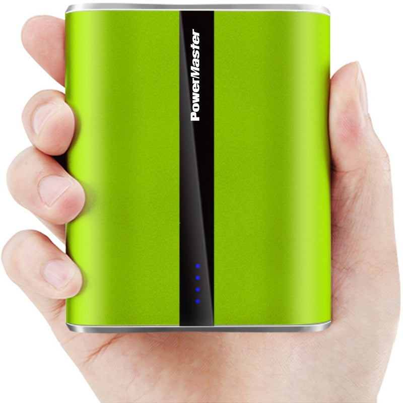 Powermaster 12000mAh Portable Charger with Dual USB Ports 3.1A Output