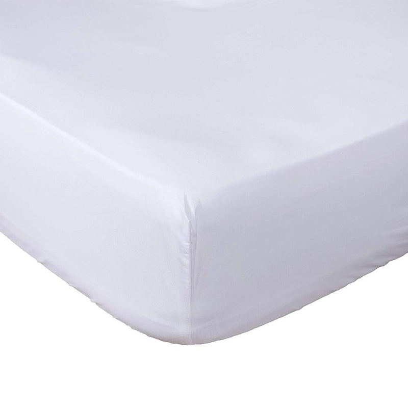 Premium Fitted Bottom Sheet - Assorted Colors and Sizes Linen & Bedding Queen White - DailySale