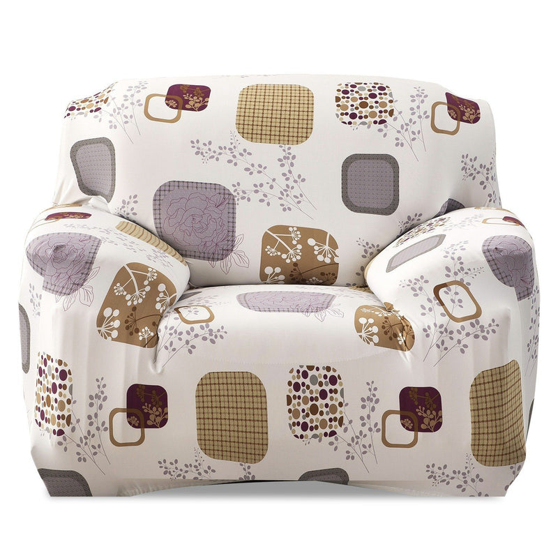 Printed Stretch Sofa Cover Household Appliances Chair Blocks - DailySale