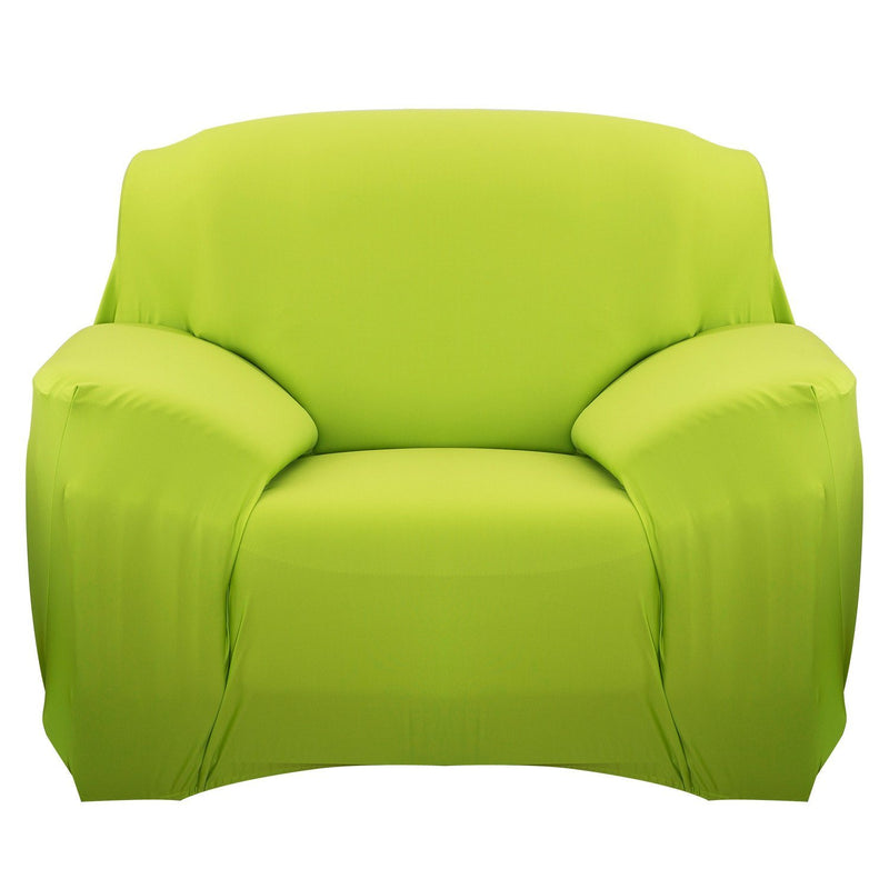 Printed Stretch Sofa Cover Household Appliances Chair Green - DailySale