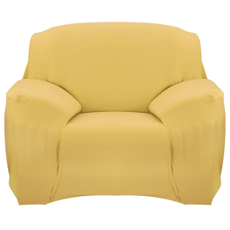 Printed Stretch Sofa Cover Household Appliances Chair Yellow - DailySale