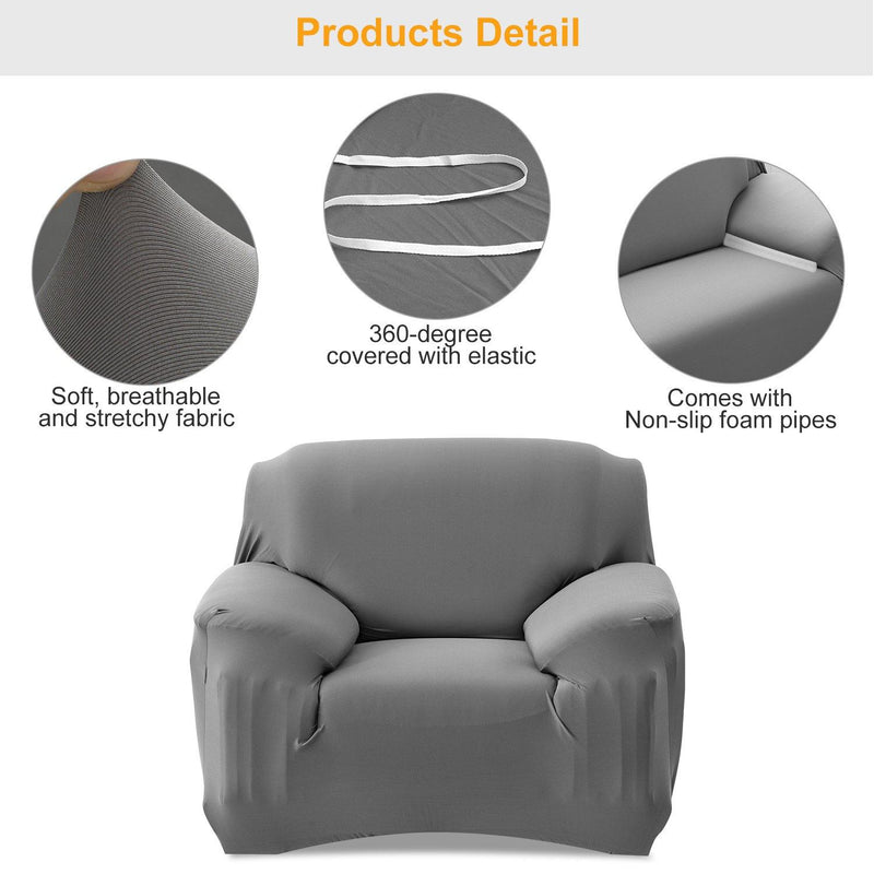 Printed Stretch Sofa Cover Household Appliances - DailySale
