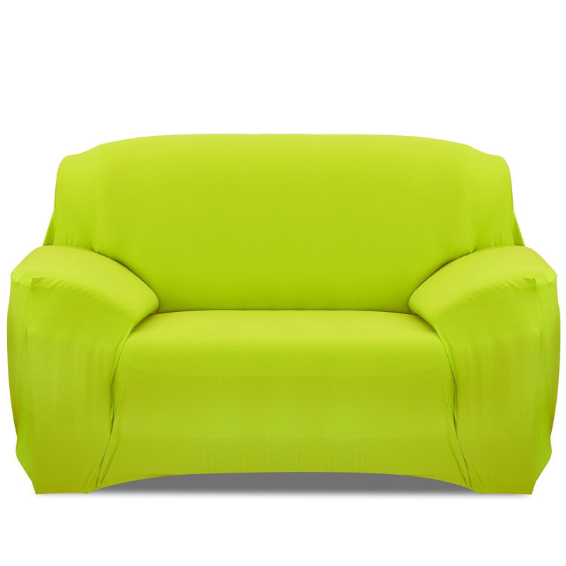 Printed Stretch Sofa Cover Household Appliances Loveseat Green - DailySale