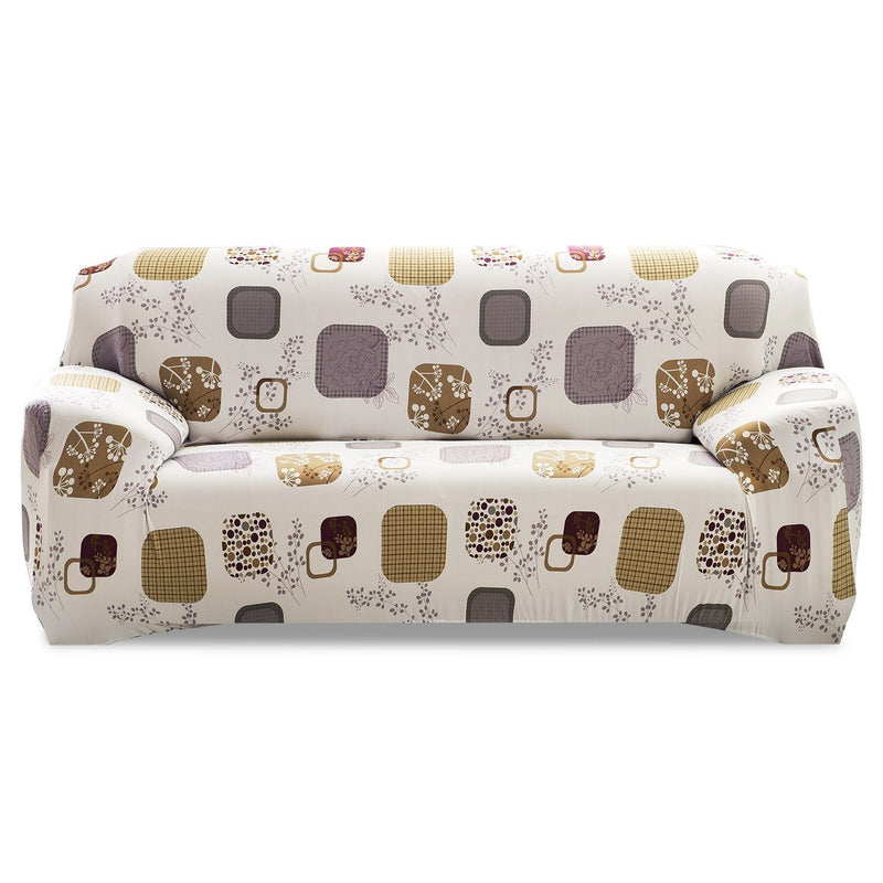 Printed Stretch Sofa Cover Household Appliances Sofa Blocks - DailySale