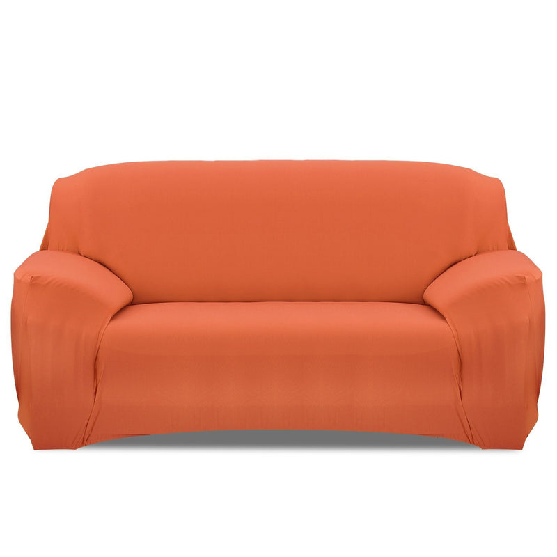 Printed Stretch Sofa Cover Household Appliances Sofa Orange - DailySale