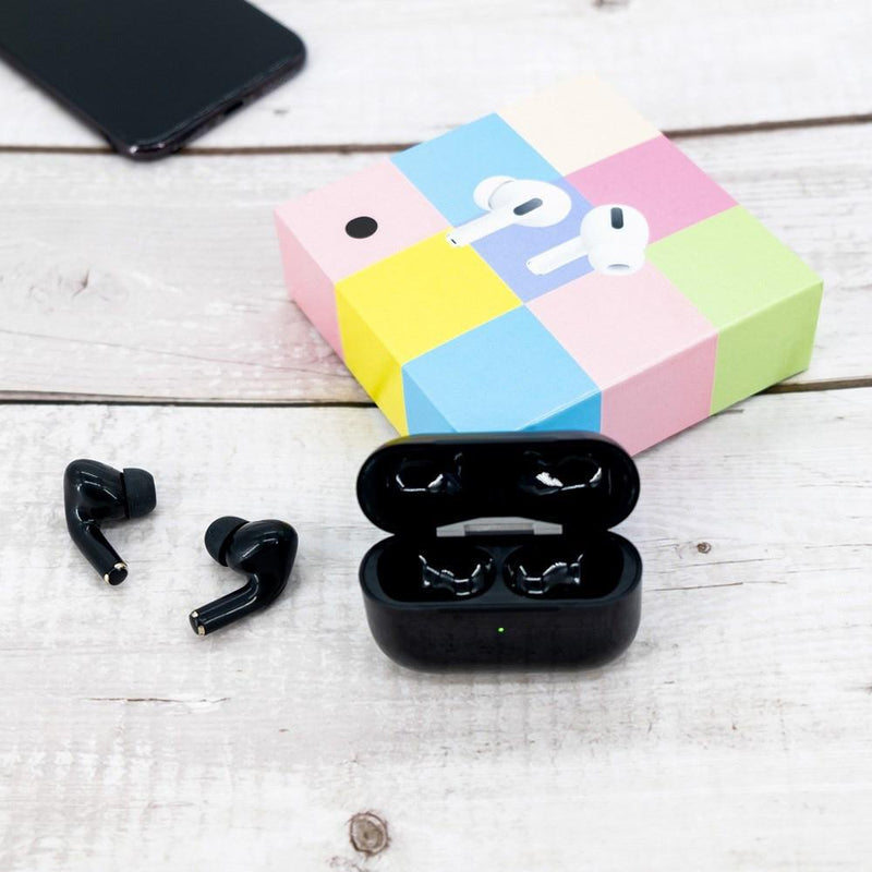 Pro Wireless Earbuds and Charging Case Headphones & Audio Black - DailySale