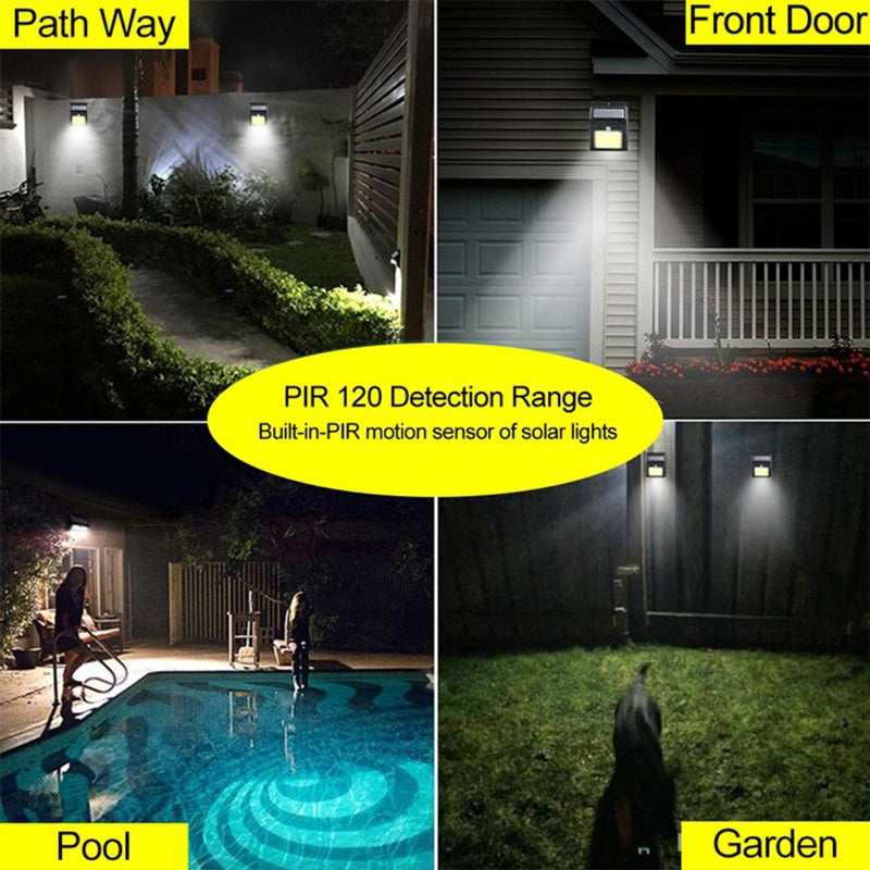 5-Pack: Outdoor 48 LED Solar Light - DailySale, Inc