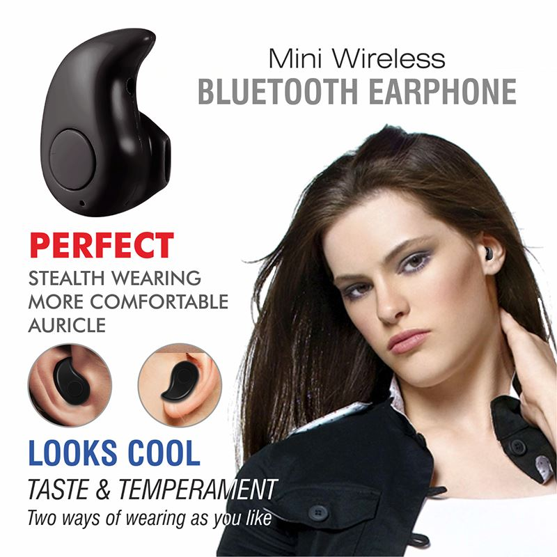Professional Mini Invisible Wireless Bluetooth Earbud Phones & Accessories - DailySale