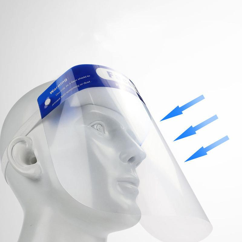 Protective Isolation Mask Anti-fog Disposable Face Shield Masks Wellness & Fitness - DailySale