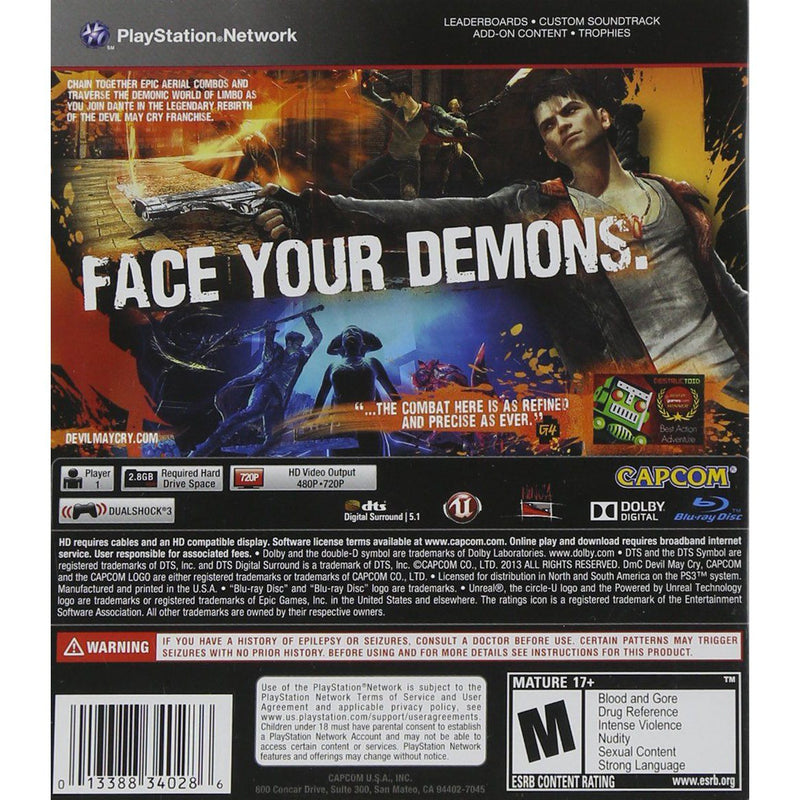 PS3 DMC: Devil May Cry Video Games & Consoles - DailySale