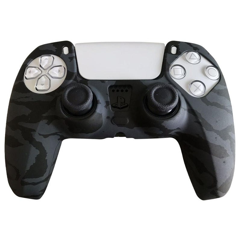 PS5 Silicone Controller Cover Video Games & Consoles Black - DailySale