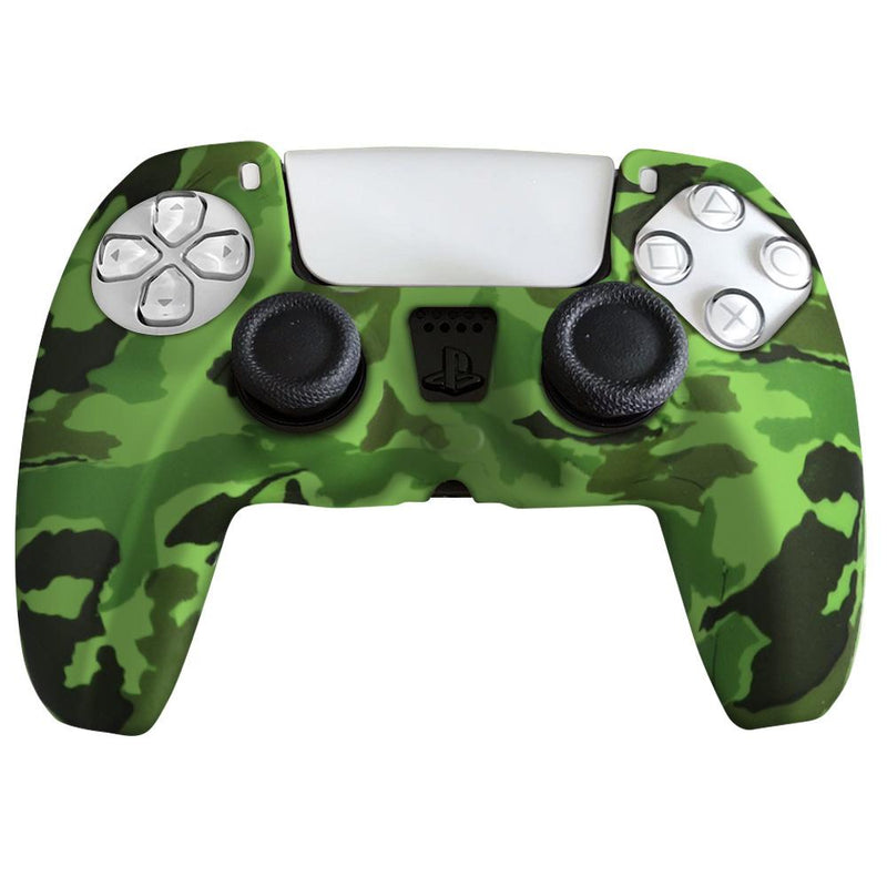 PS5 Silicone Controller Cover Video Games & Consoles Green - DailySale
