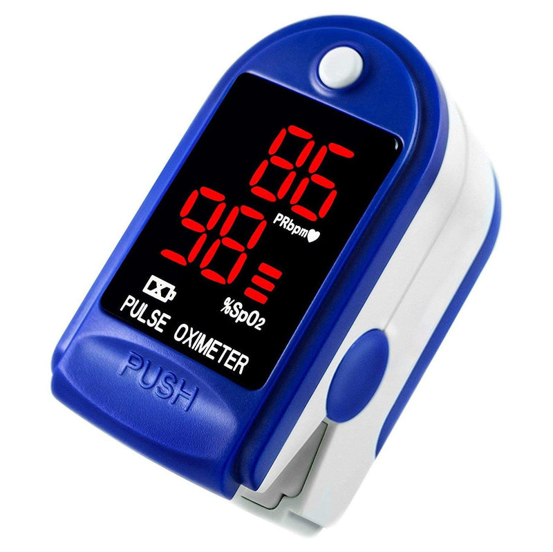 Pulse Oximeter H8 Fingertip Oximetry Blood Oxygen SpO2 Monitor Fitness Tracker Wellness & Fitness - DailySale