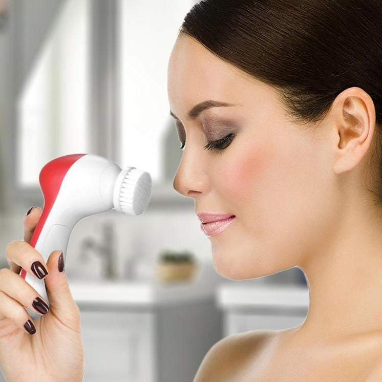 Pursonic 5-in-1 Facial Cleansing Brush and Massager Beauty & Personal Care - DailySale
