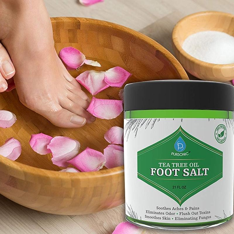 Pursonic Foot Spa Massager and Tea Tree Oil Soak Beauty & Personal Care - DailySale