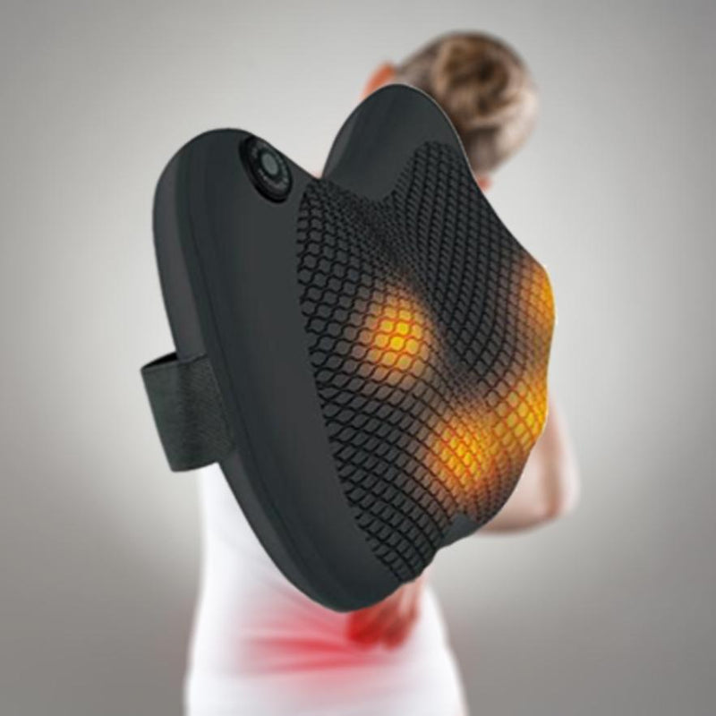 Pursonic Heating Shiatsu Back and Neck Massager Wellness & Fitness - DailySale