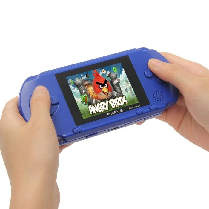 PXP3 Portable Handheld Video Game System with 150+ Games Toys & Games Blue - DailySale