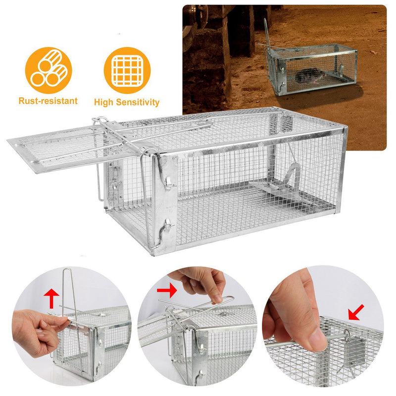 Rat Trap Cage Humane Live Rodent Pest Control - DailySale