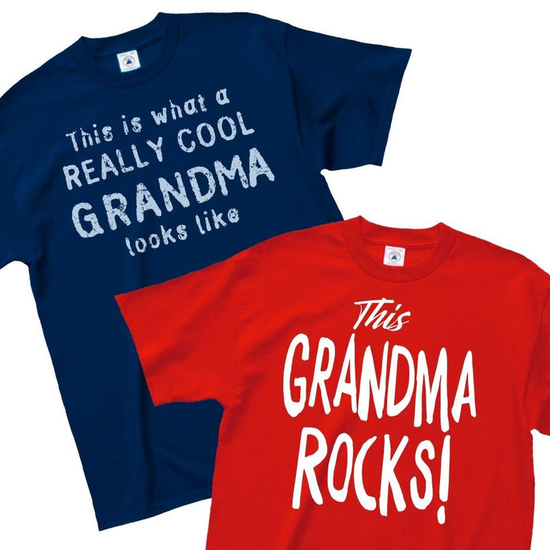 Really Cool Grandma or This Grandma Rocks T-Shirt - Assorted Styles and Sizes Women's Apparel - DailySale