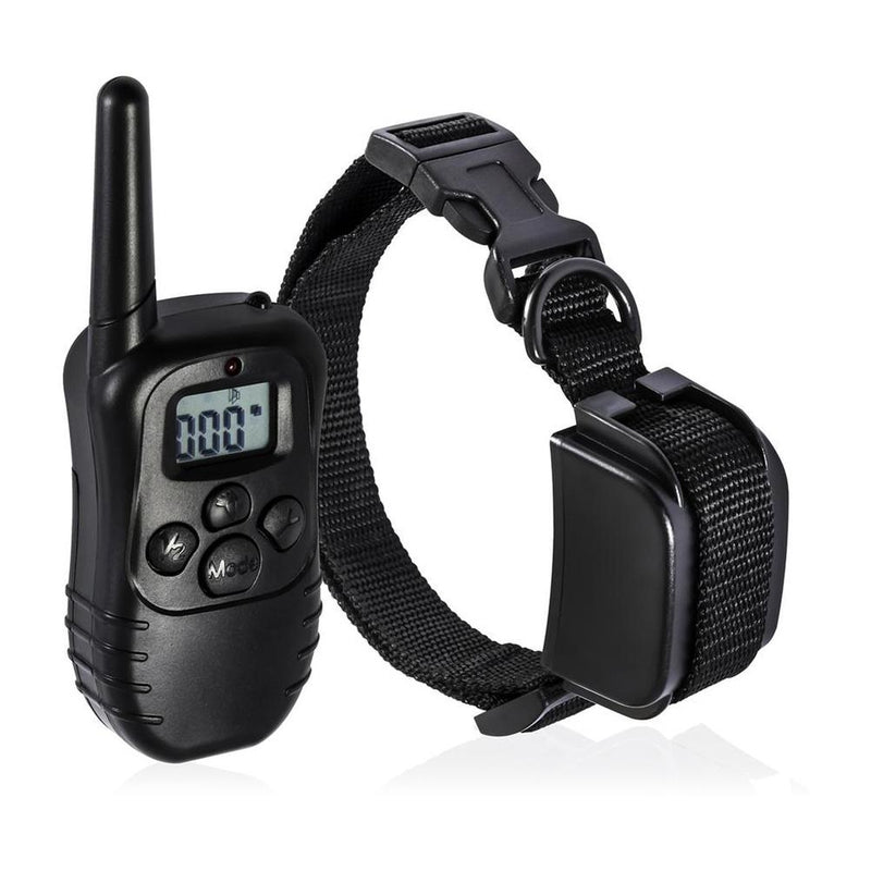 Rechargeable Remote Dog Training Collar Pet Supplies 1 Collar - DailySale