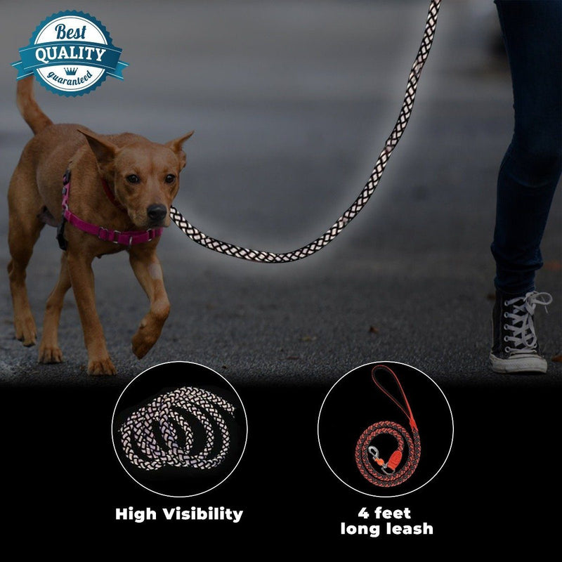 Reflective Stretchable Braided Leash for Pets Pet Supplies - DailySale