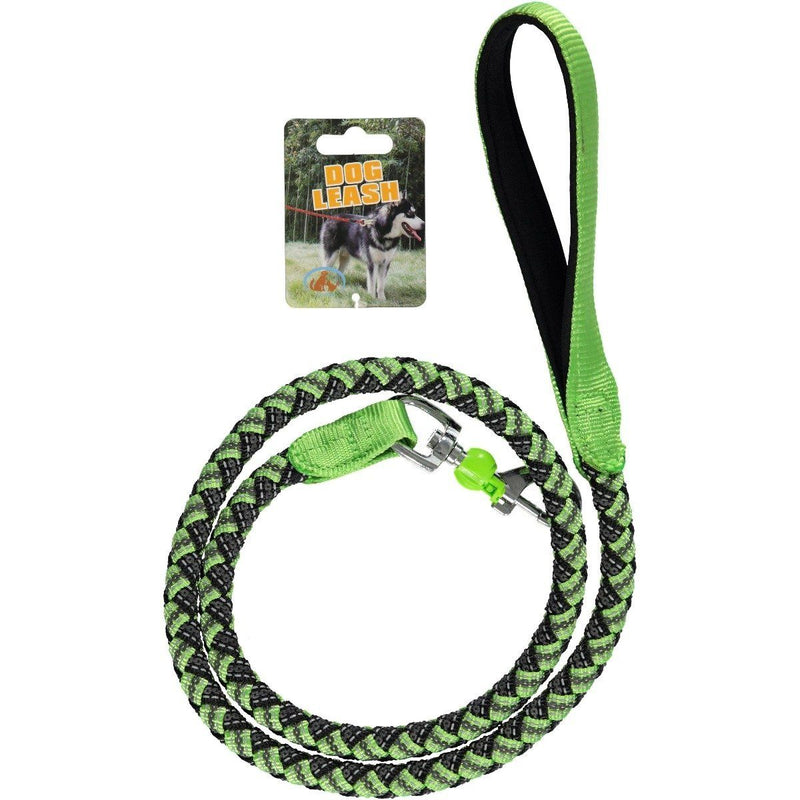 Reflective Stretchable Braided Leash for Pets Pet Supplies XS Green - DailySale
