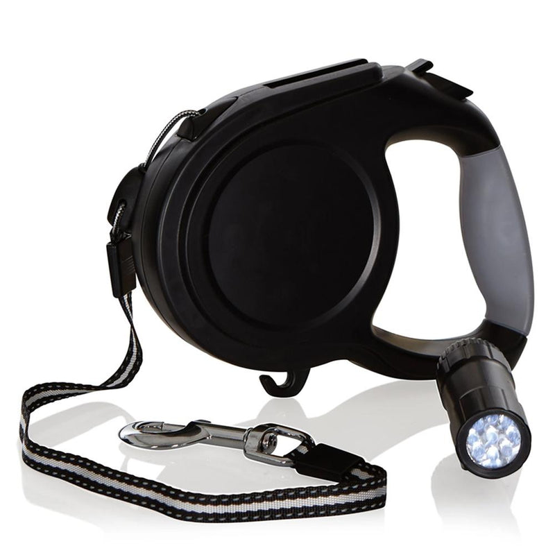 Retractable Dog Leash With LED Lights Pet Supplies - DailySale