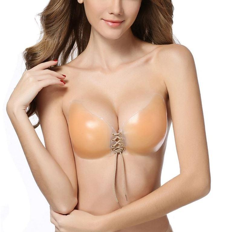 Reusable Butterfly Silicone Push-Up Bra - Assorted Sizes Women's Apparel C - DailySale