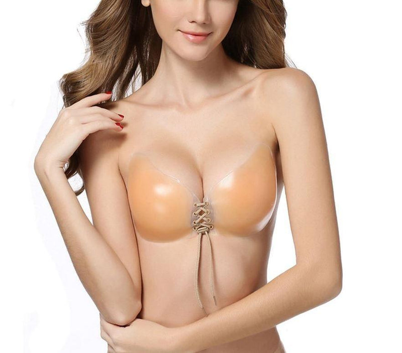 Reusable Butterfly Silicone Push-Up Bra - Assorted Sizes Women's Apparel - DailySale
