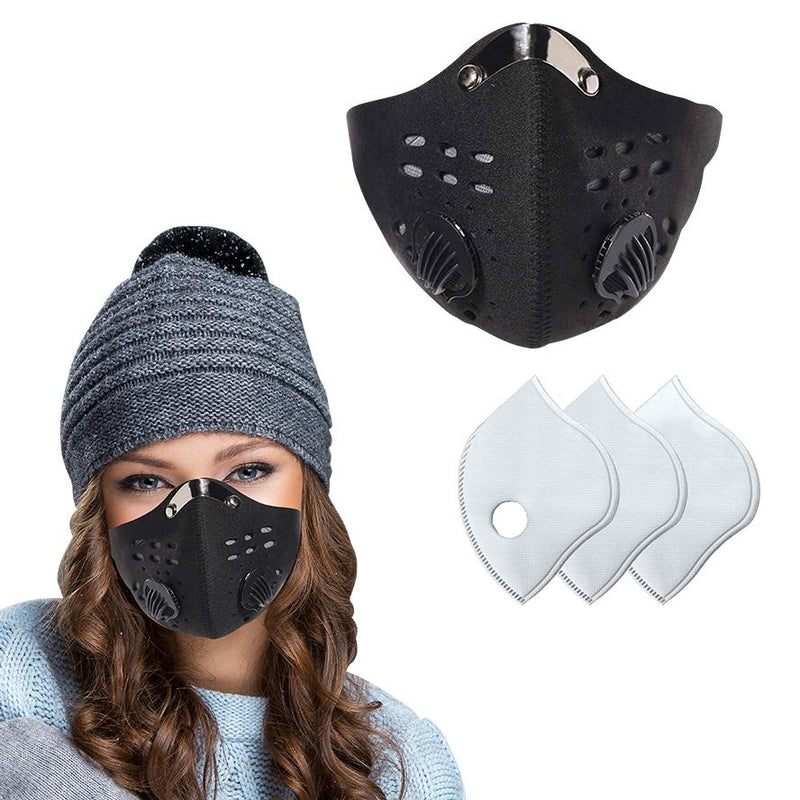 Reusable Dust Proof Mask With Filters