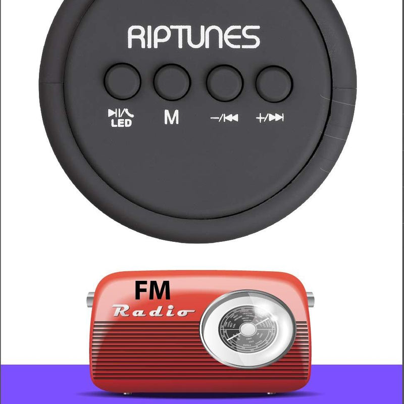 Riptunes AS-4000BTS BT Wireless speaker Headphones & Speakers - DailySale