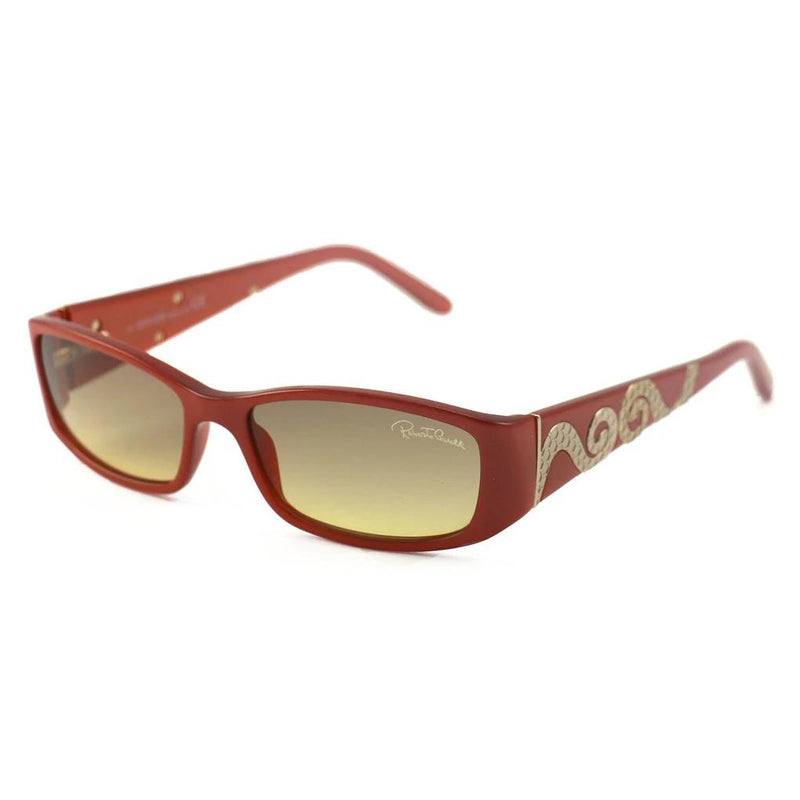 Roberto Cavalli Women's Sunglasses RC0351 P01 Orange 55 15 135 Rectangular Women's Accessories - DailySale
