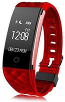 S2 Smart Bracelet Fitness Tracker - Assorted Colors Wellness & Fitness Red - DailySale