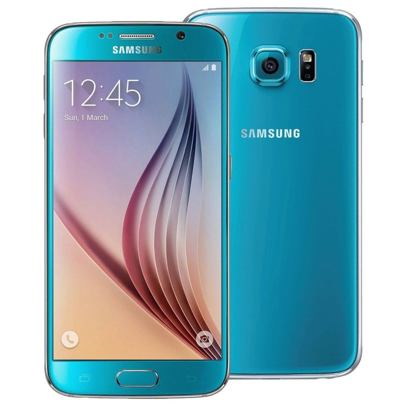 Samsung Galaxy S6 32GB GSM Unlocked Smartphone - Assorted Colors Phones & Accessories Blue - DailySale