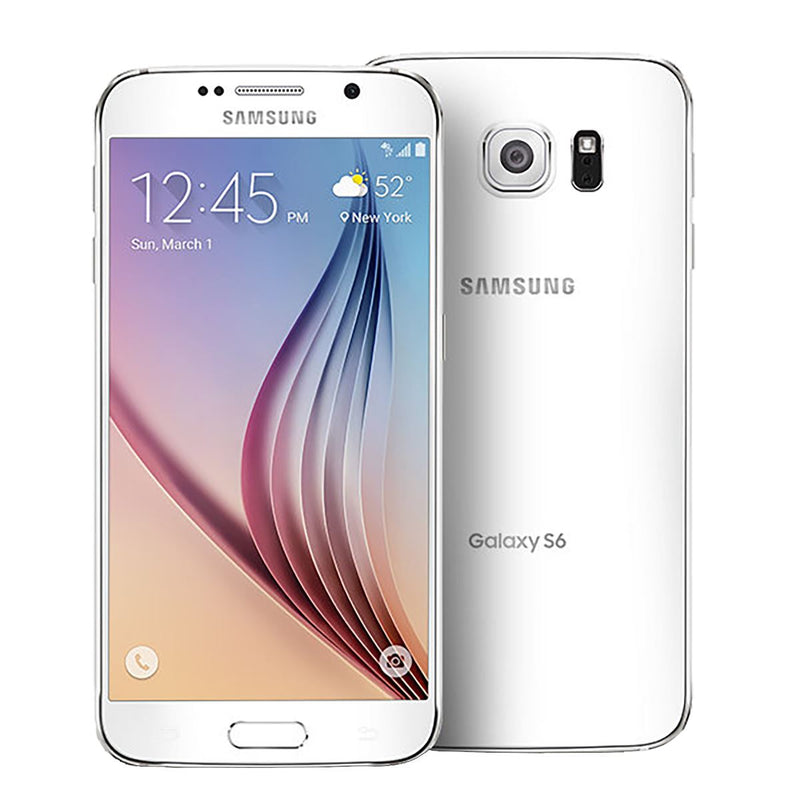 Samsung Galaxy S6 32GB GSM Unlocked Smartphone - Assorted Colors Phones & Accessories White - DailySale