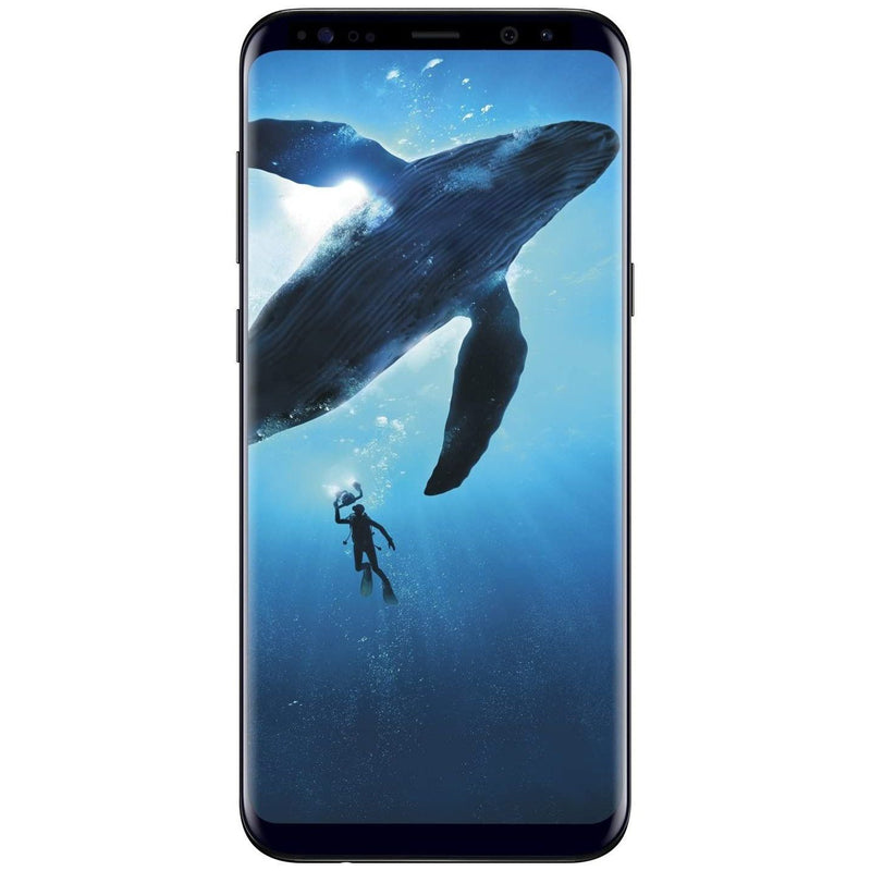 Samsung Galaxy S8 or S8+ Fully Unlocked 64GB - Midnight Black Cell Phones - DailySale