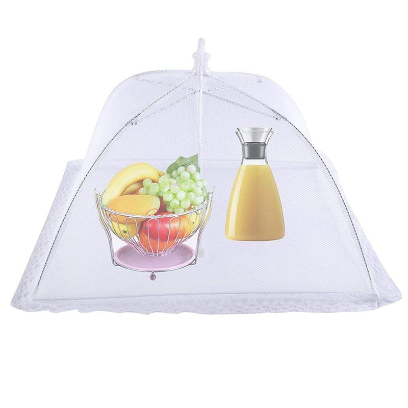 Set of 2: Large Pop-Up Mesh Screen Food Cover Tents Home Essentials - DailySale