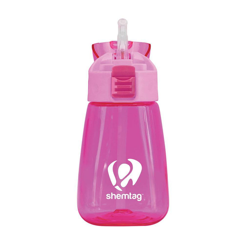 Shemtag Toddler Water Bottle with Straw and Lid Sports & Outdoors Fuchsia - DailySale
