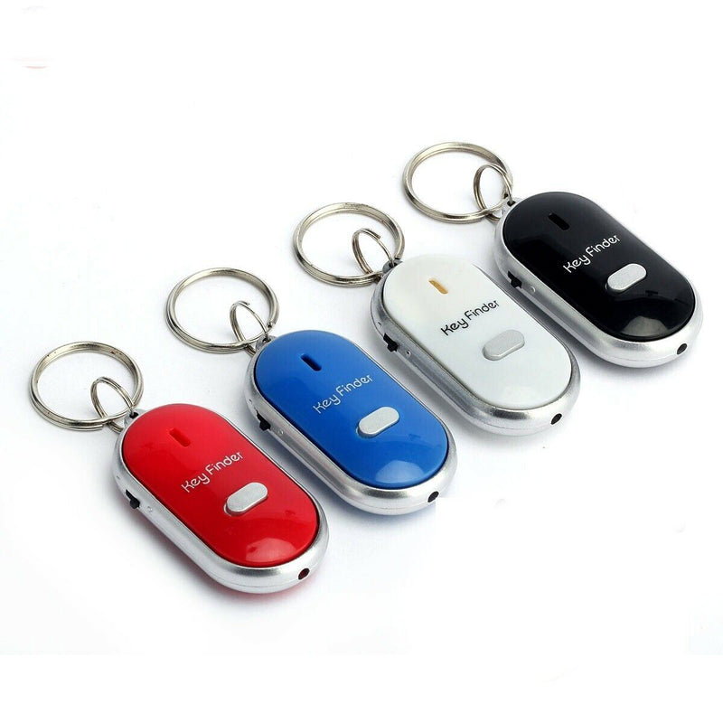Smart Key Finder Anti-Lost Whistle Sensors Keychain Everything Else - DailySale