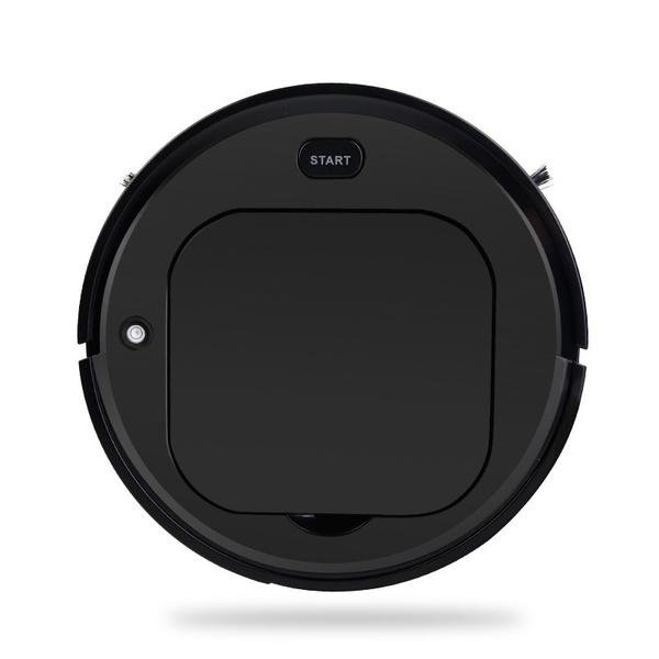 Smart Robot Vacuum Cleaner Household Appliances Black - DailySale