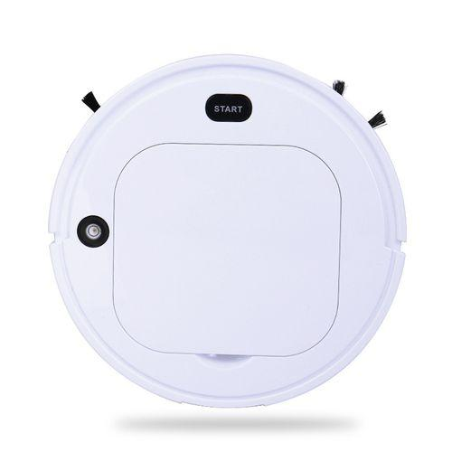 Smart Robot Vacuum Cleaner Household Appliances White - DailySale