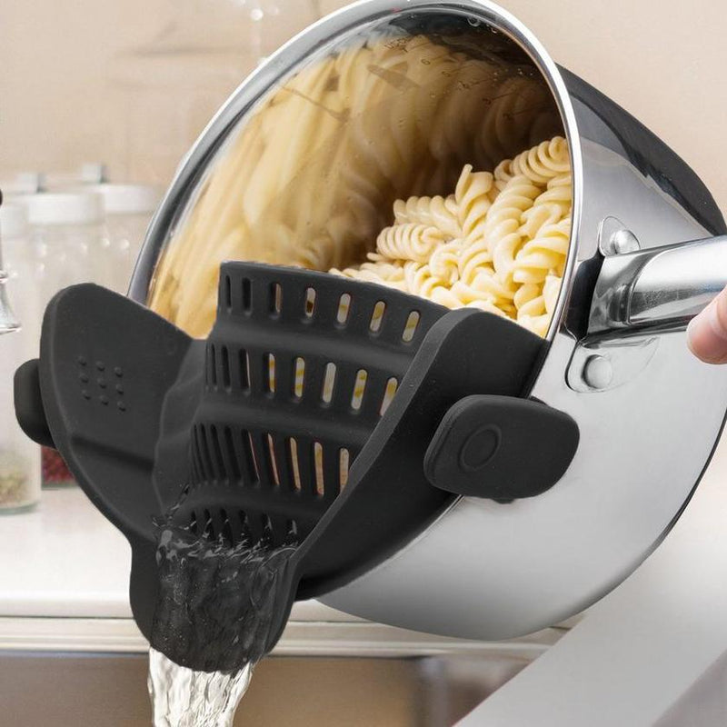 Snap'N Strain Kitchen Strainer
