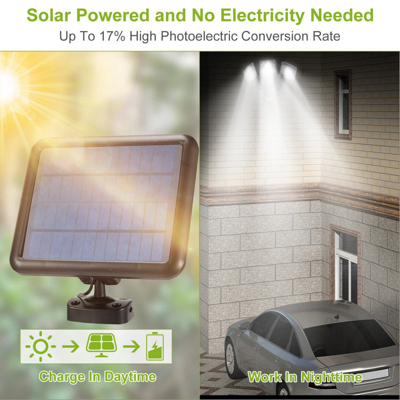 Solar Lights Outdoor 188 LEDs Lighting & Decor - DailySale