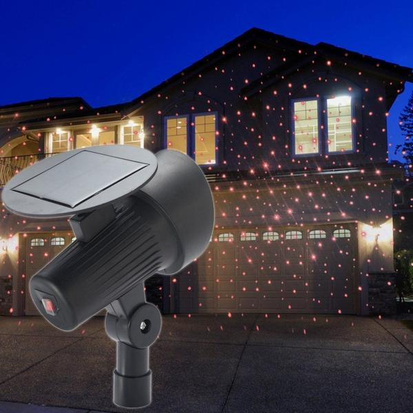 Solar-Powered Holiday Laser Lights Projector Lighting & Decor - DailySale